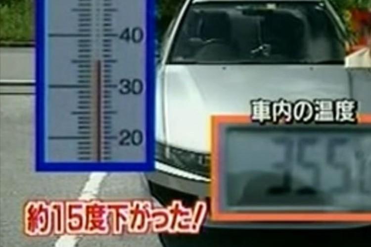 【暑い夏におすすめ】車内の温度をアッという間に下げる方法