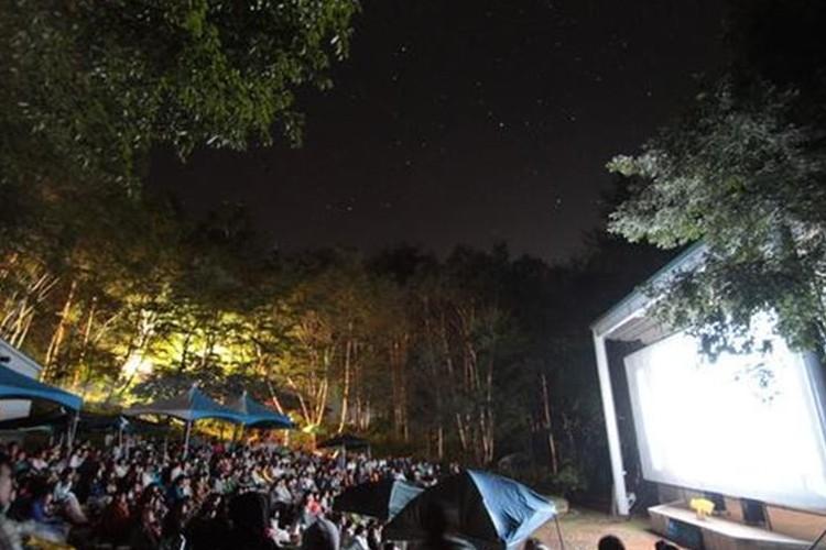 """""""星空の下に開館する映画館""""が、八ヶ岳に夏限定でオープン!"""