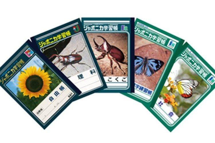 """ジャポニカ学習帳""""昆虫ノート""""が3年ぶりに復活!人気投票で上位を独占!"""