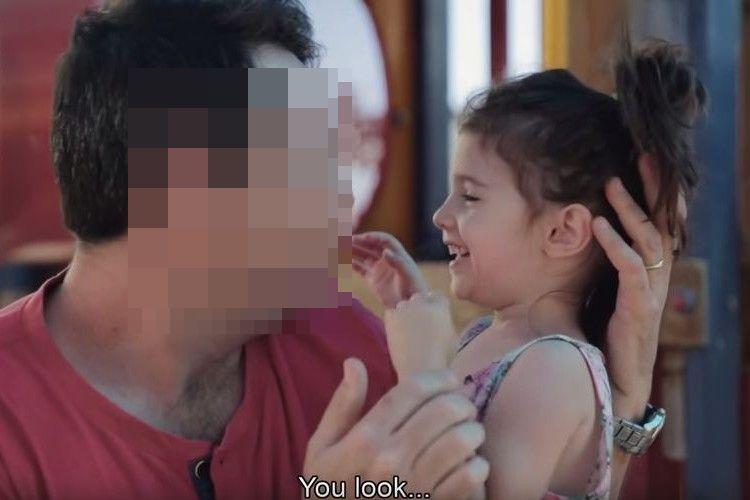 「別のパパみたい!」14年ぶりにヒゲを剃ったお父さん。家族の反応が面白い!