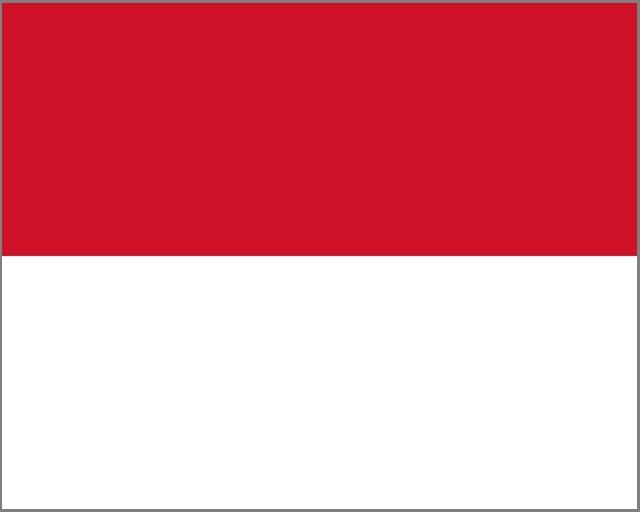 インドネシア モナコ 国旗