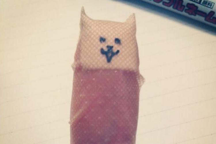 指先の絆創膏がネコに変身!カワイイ顔で傷をガードしてくれちゃうぞ