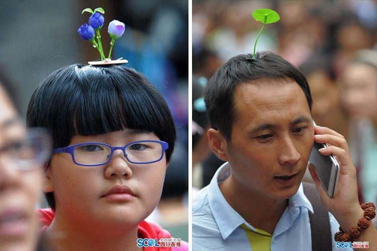 思わず引っこ抜きたくなっちゃう?やはり斜め上を行く中国の最新ファッション