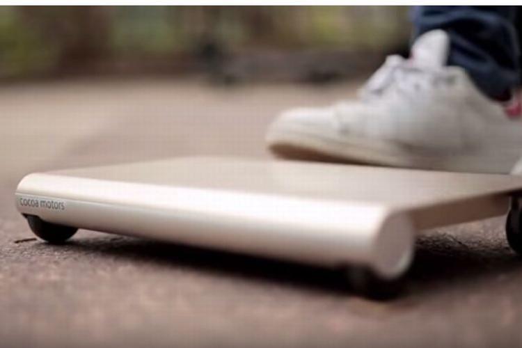 """日本から世界へ!コンセプトは""""持ち運べるクルマ""""「walk car」これは凄いぞ!"""