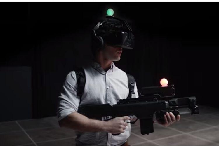 未来のゲームセンターはこうなる!?仮想現実空間で撃ちまくる「Zero Latency」が面白そう!
