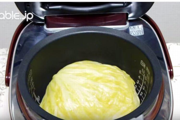 簡単すぎるのに美味しい!キャベツを炊飯器に入れるだけの驚きのレシピ