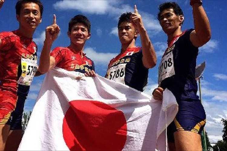 タレントの武井壮が「世界マスターズ陸上競技選手権」で金メダル獲得!