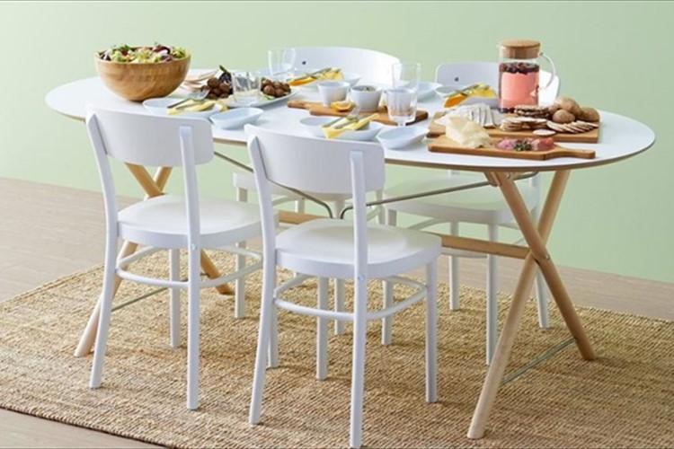 お部屋に合わせてコーディネートしたい!天板も脚も選べるテーブルが素敵♪