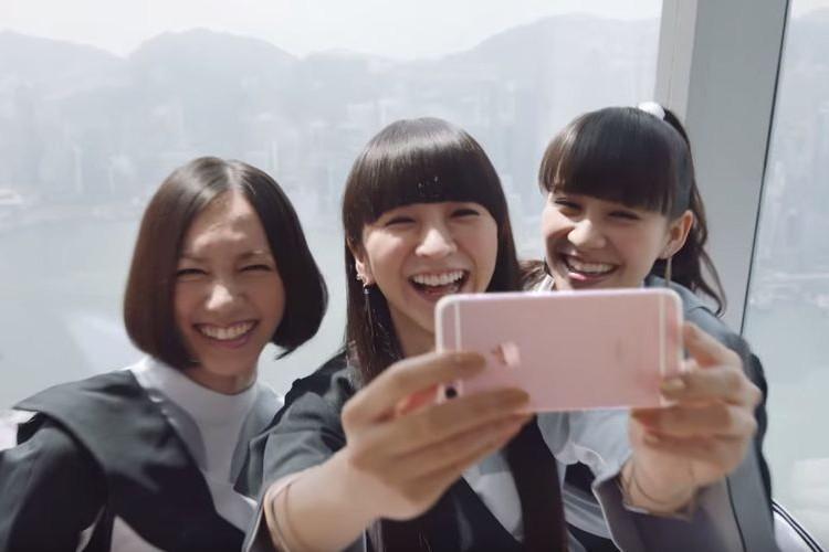 iPhoneの世界公式プロモ映像に『Perfume』がサプライズ出演!なんか嬉しい!