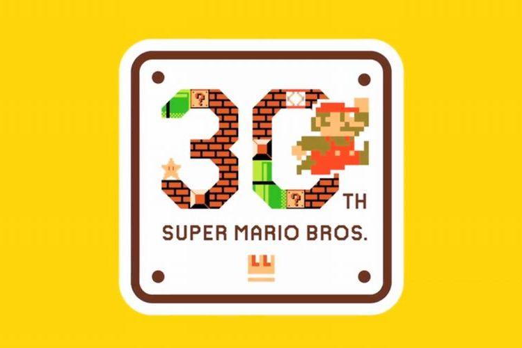 スーパーマリオブラザーズ30周年にGoogleが小さなお祝いをしていたぞ!