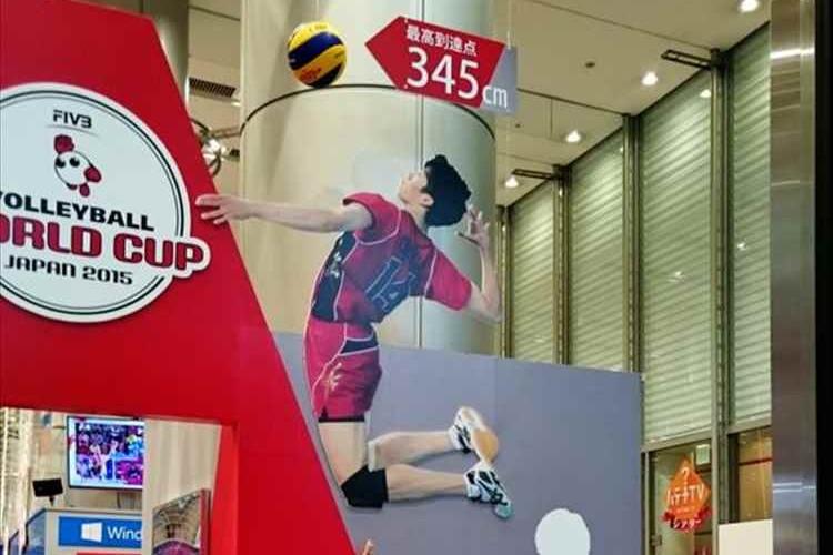 """これを見れば""""男子バレー石川選手""""の「驚異的なジャンプ力」が一目瞭然!"""