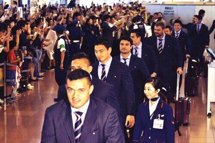 「日本のラグビーを変えることができた」ラグビー日本代表が凱旋帰国!