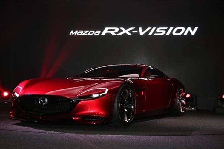 やっぱりマツダはロータリーエンジンだ!美しすぎるスポーツカー「RX-VISION」を世界初公開!