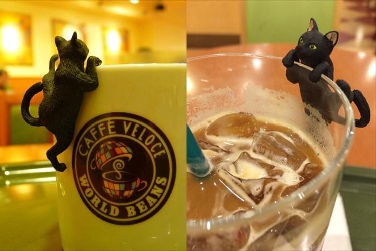 カフェ・ベローチェでもらえる5種類の可愛い「ふちねこ」を集める人が続出中!