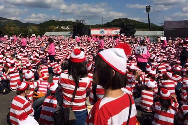 """長崎・ハウステンボスに""""ウォーリー""""が集結!集まった人数で世界記録に挑戦!結果は?"""
