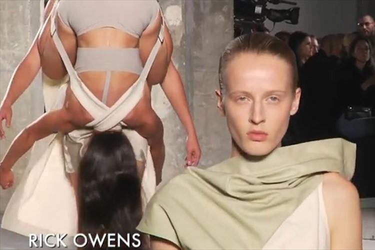 """""""担いで歩く!?""""あまりにもぶっ飛んでいるファッションショーが世界中で話題に!"""