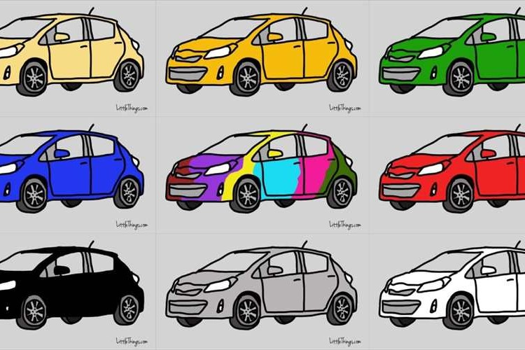 「あなたはどの色?」好きな車の色を選ぶだけで分かる性格診断が話題に!