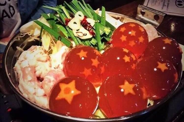 食べたら願いが叶う!?迫力満点のドラゴンボール鍋で寒い冬なんてもうへっちゃらだ!