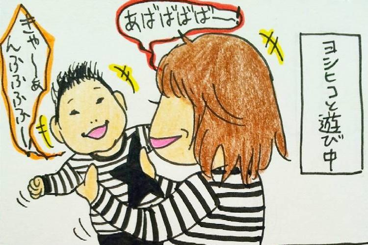 ママたちから共感!赤ちゃんあるあるが面白い!育児絵日記!