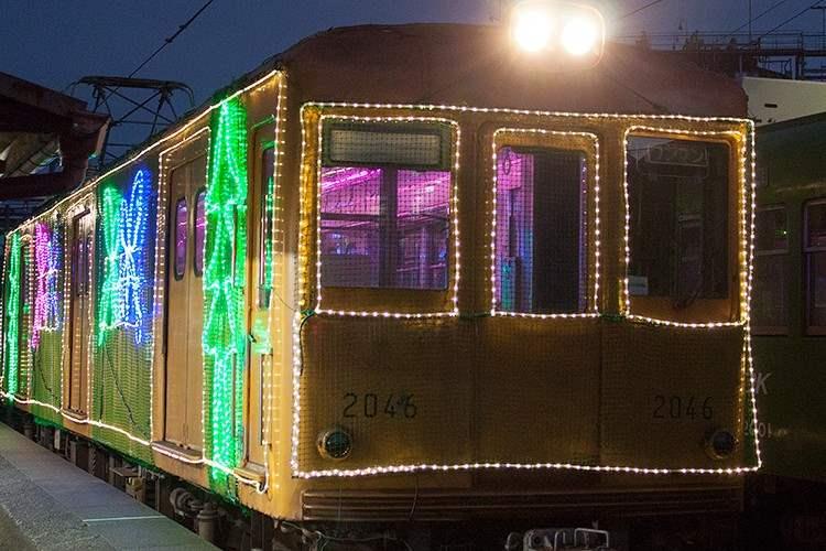 銚子電鉄のイルミネーション電車が綺羅びやかすぎて話題に!
