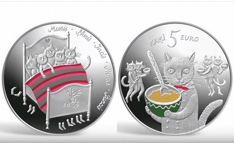 ラトビアで発行された猫の銀貨に「かわいい♪」「欲しい」との声が殺到!