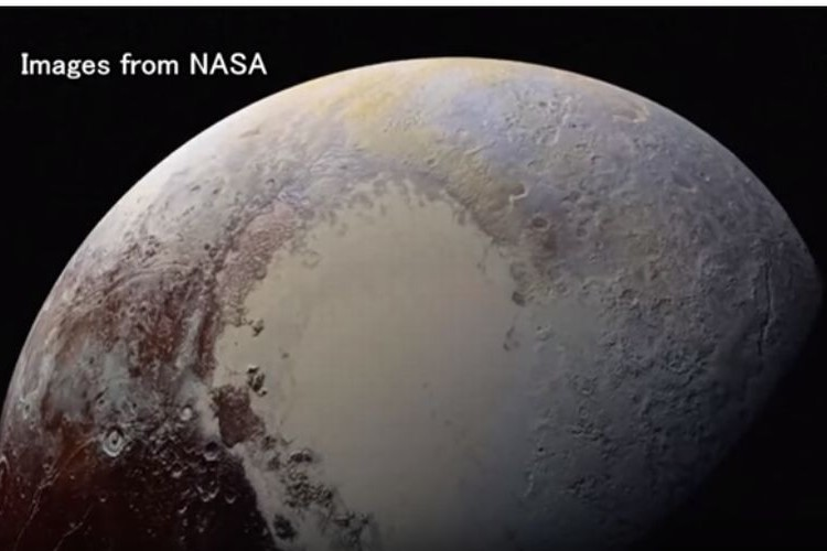NASAが冥王星を限界ギリギリまでよって撮影した高精細画像を公開