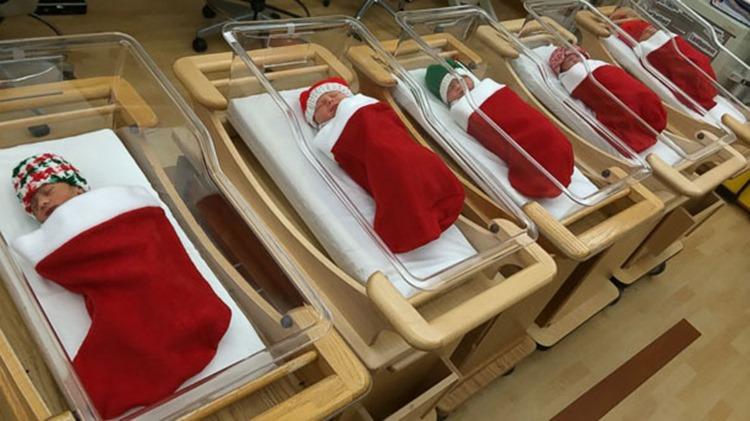 病院のクリスマスがガチすぎる!とってもハッピーな病院ならではのデコレーション10選