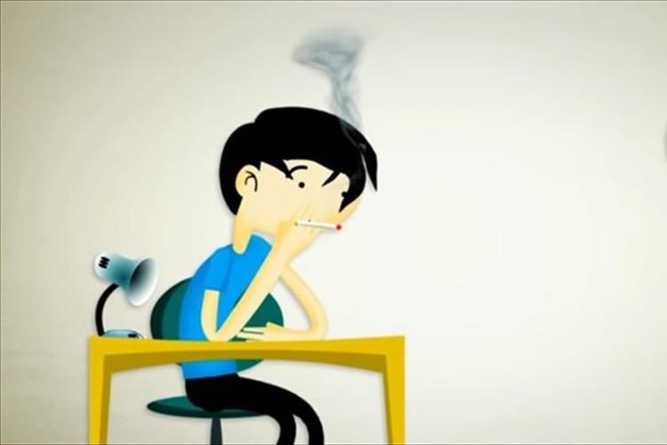 【動画】これは分かりやすい!タバコをやめて20分後から起こる体内の変化