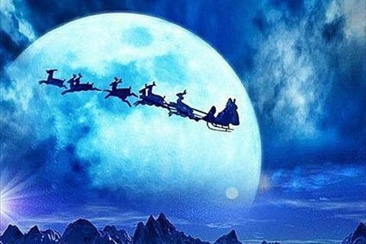 """【38年ぶり】今年は""""満月のクリスマス""""がやってくる♪満月の夜にすると良いこととは?"""