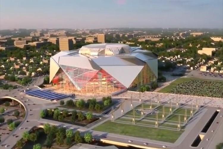 アメリカで建設中の1,500億円規模のハイテクスタジアムが凄すぎると話題に!