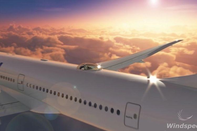気分はさながらパイロット!最高のフライトが味わえる360度パノラマシート「スカイデッキ」があと数年で実現!