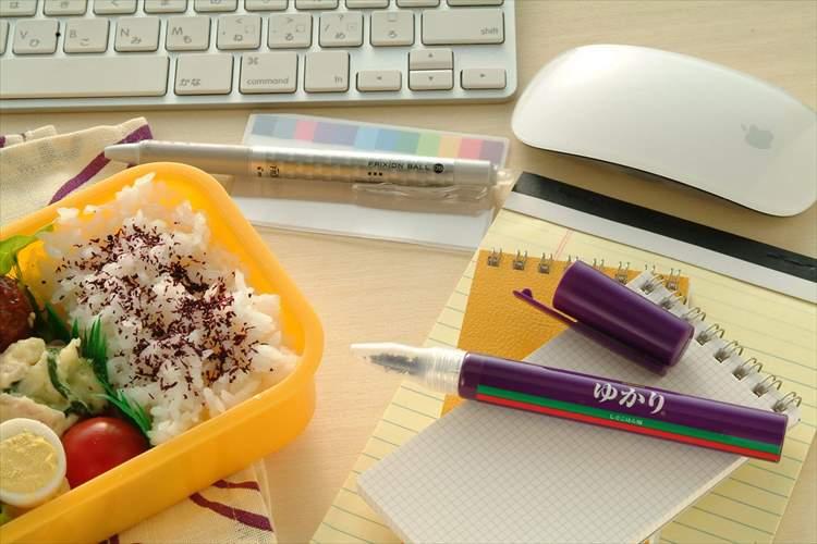 品切れ続出!?見た目もおもしろいペン型ふりかけ「ゆかりペンスタイル」が話題!