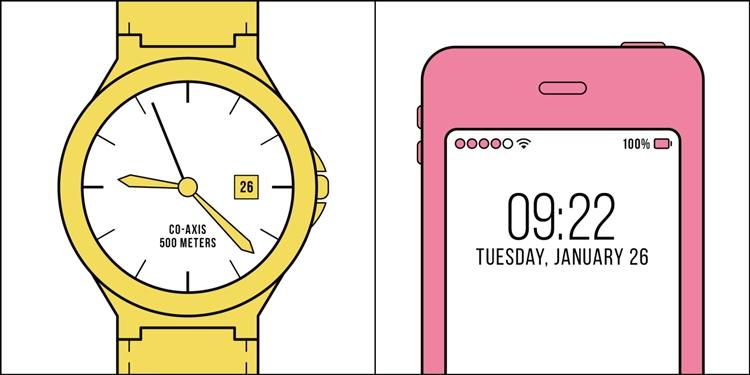 時計派?携帯派?色んな二択、人間はふたつのタイプしかいない。さてどっち?