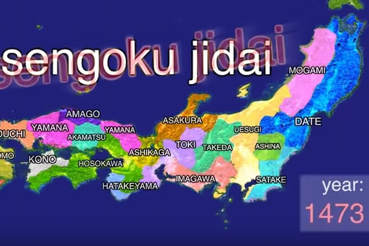 海外で話題の9分にまとめた『History of Japan』これは日本人も見るべき!