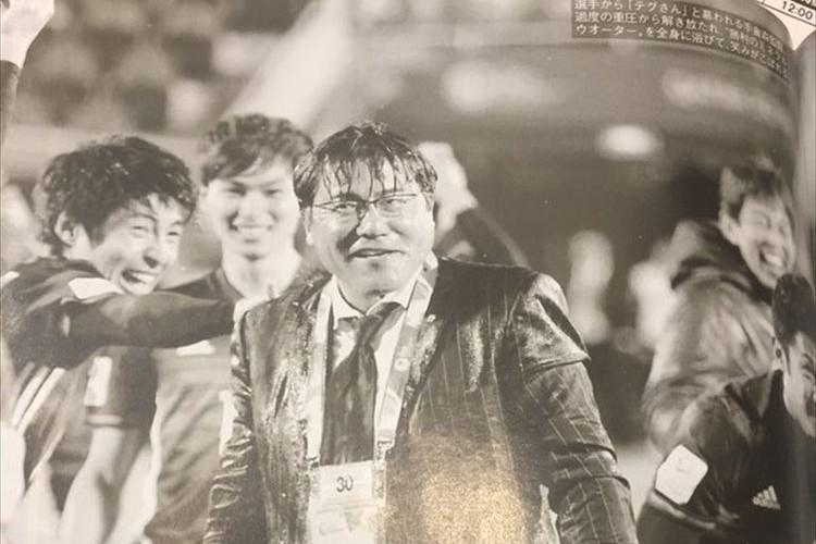 有吉も見間違えた!サッカー日本代表U-23手倉森監督が、カンニング竹山に激似と話題に!