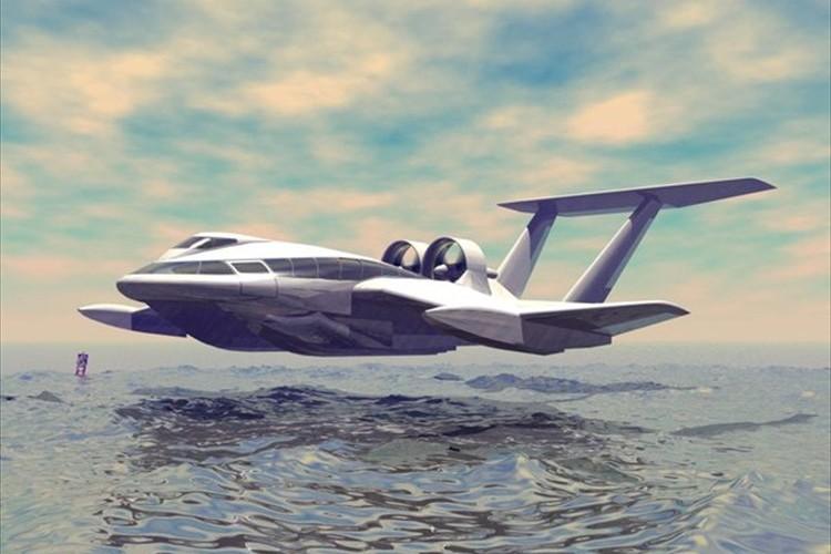 最大時速250km!海面上を高速飛行する「フライシップ」が未来の交通手段として期待!
