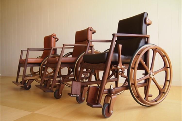 温かくて素敵な「木の車椅子」を作りたい!その想いが多くの人の心を動かした!