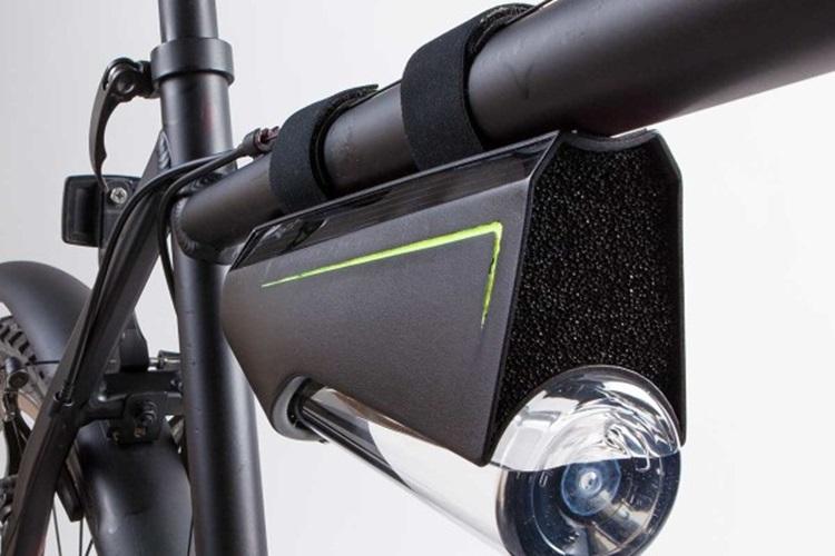 自転車で1時間走ると0.5リットルの水を生成する画期的デバイス「Fontus」