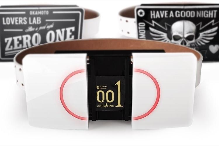 音声認識でコンドームを自動射出!ウェアラブルデバイス「ゼロワンベルト」が誕生