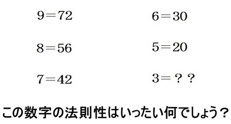 アタナはどっち?答えが6→理論派、答えが9→感覚派、それとも全く別の解?