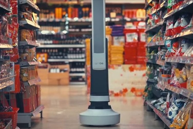 """お店は助かる!""""売場チェックロボット""""が登場!棚の欠品などを自動でチェック"""