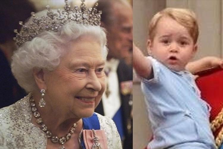 """ジョージ王子がエリザベス女王につけた""""あだ名""""は「ガンガン」…母のキャサリン妃が明かす"""
