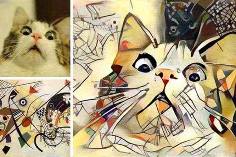 ニューラルネットワークが作ったアート!?画像2枚で作る絵画が引き込まれるほど魅力的