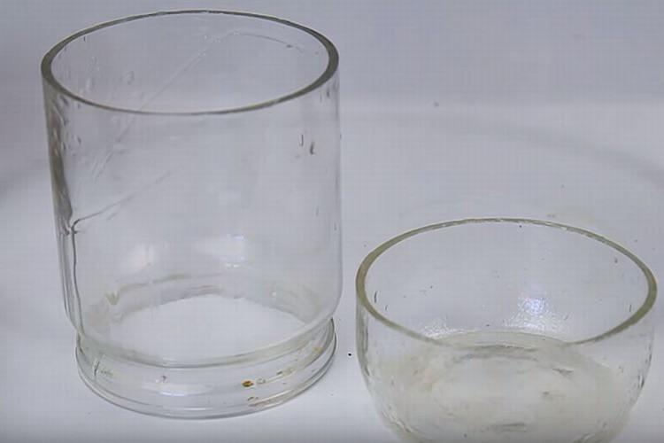 理科の実験みたいで面白い!ガラスを綺麗に真っ二つにする方法