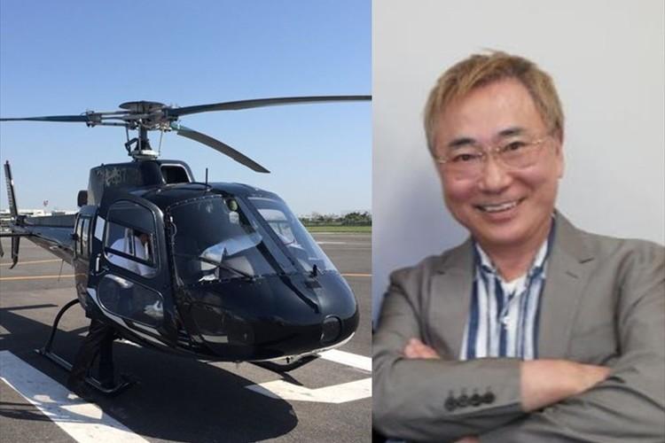 「僕は熊本が大好き」高須院長のヘリが物資を直接届けるために被災地へ出発!