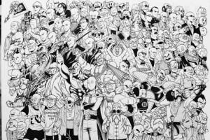 これは凄い!80を超える「頭に特徴」のあるキャラクターが勢揃い!全員わかりますか?