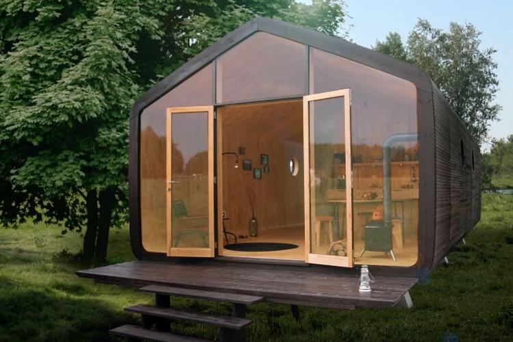 段ボールで作るお家、100年の耐久性を持つ究極のエコハウス