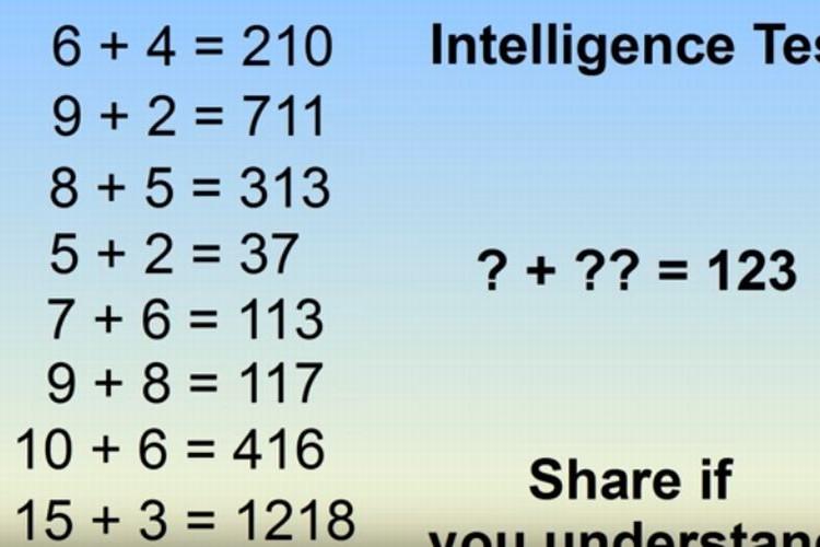 これが解ければIQ150以上の天才!「6+4=210」となる数学クイズが世界中で話題に