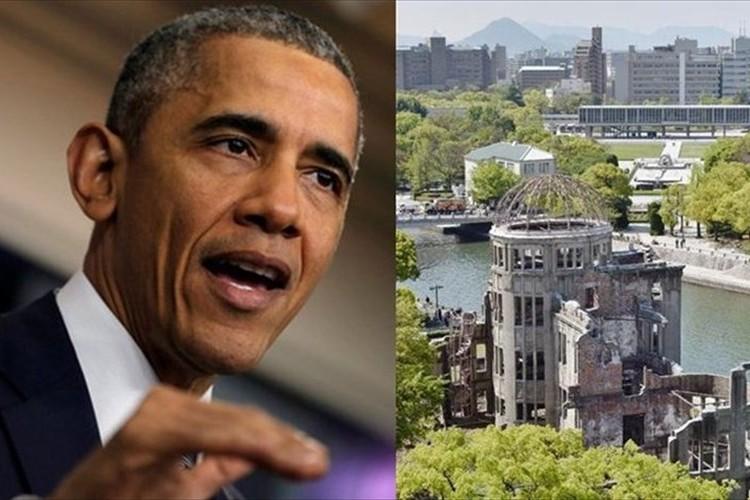 「核なき世界へ向けて歴史的訪問」オバマ大統領 広島へ 原爆投下から71年