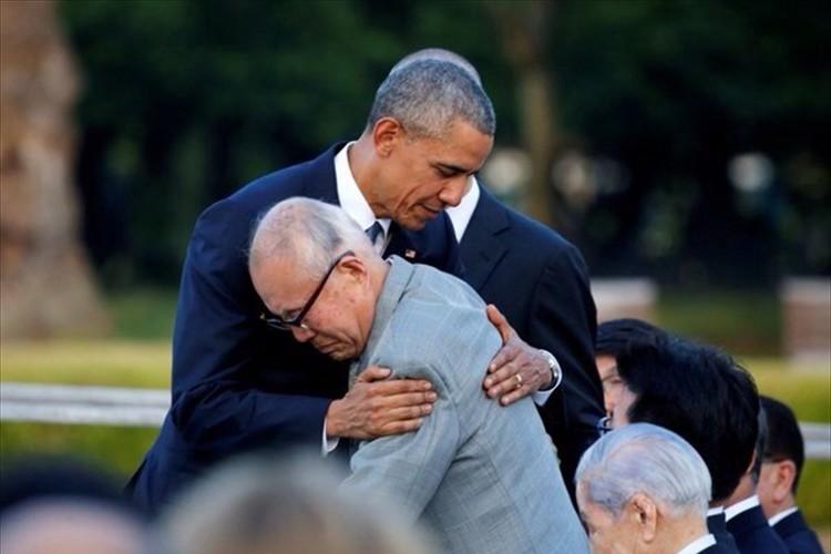 【速報】「声なき叫び声に耳を傾けます」オバマ大統領 広島訪問 慰霊碑に献花